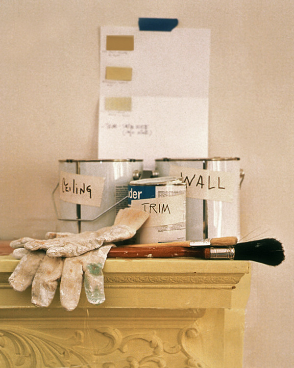 Martha Stewart Paint Ideas Kitchen: Painting A Room