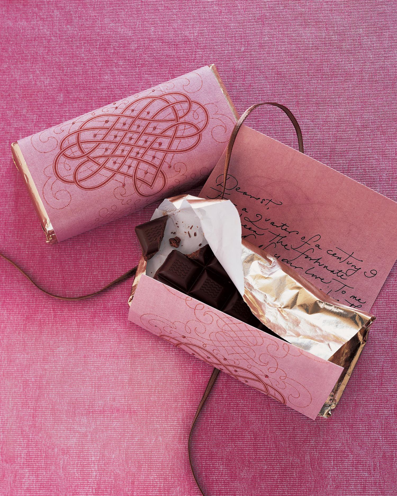 Упаковка шоколада своими руками фото