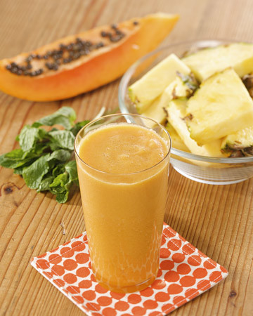 Martha S Pineapple Papaya Juice Recipe Amp Video Martha