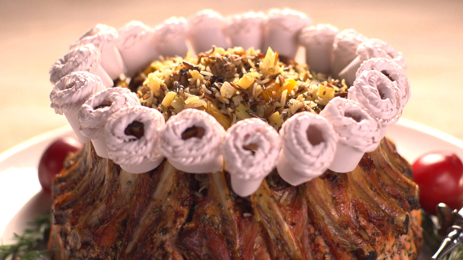 Video Crown Rib Roast Martha Stewart