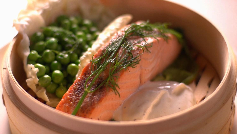 Martha Stewart Kitchen Design Ideas Video Steaming Salmon Martha Stewart