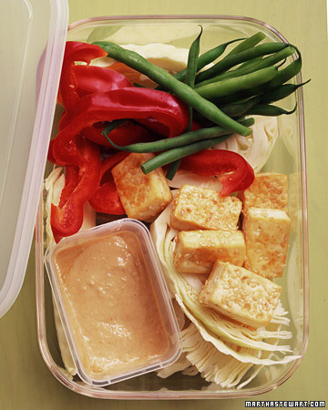 Crisp Tofu with Crudites and Sesame-Ginger Dipping Sauce Recipe ...
