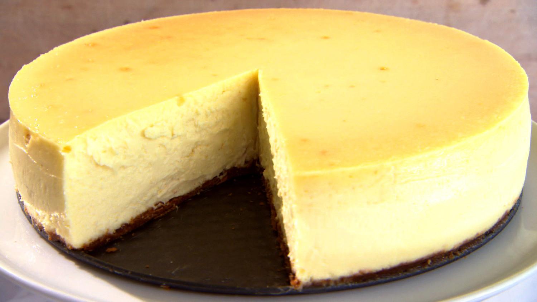New York Style Cheesecake Recipe Amp Video Martha Stewart