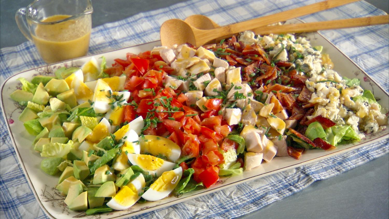 California Cobb Salad Recipe & Video | Martha Stewart