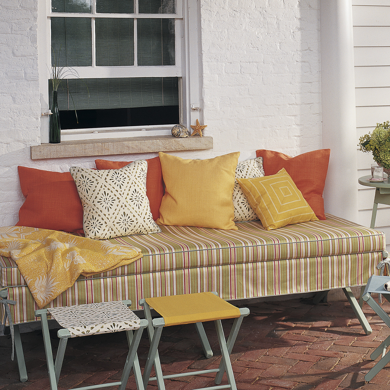 Outdoor furniture projects martha stewart for Martha stewart furniture