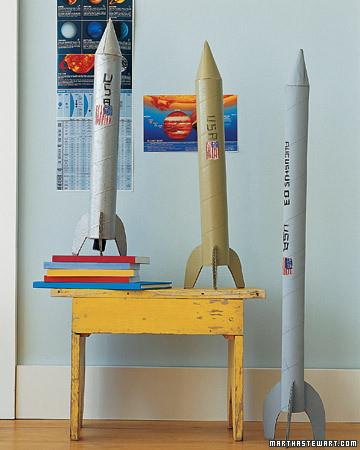 Как сделать ракету своими руками из дерева