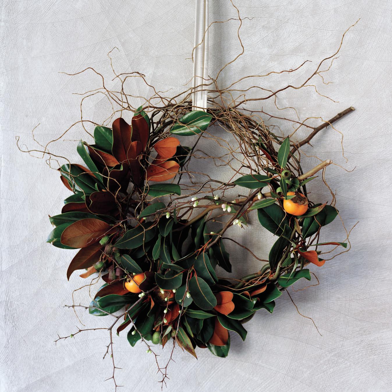where the wild wreaths are martha stewart. Black Bedroom Furniture Sets. Home Design Ideas