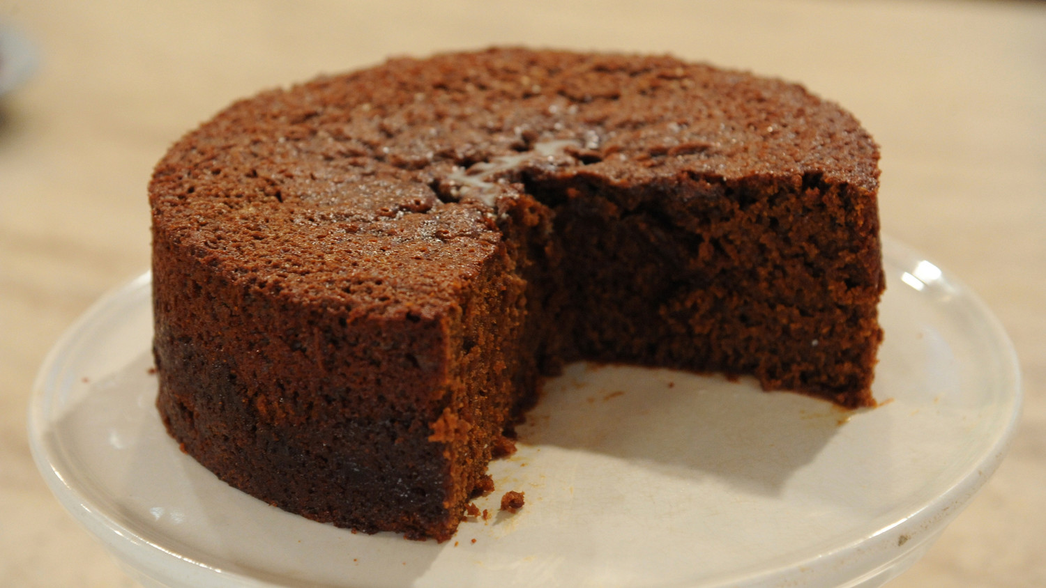 Easy Sticky Ginger Cake Recipe