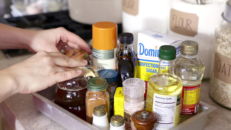Kitchen Counter With Food video: kitchen-counter clutter control | martha stewart