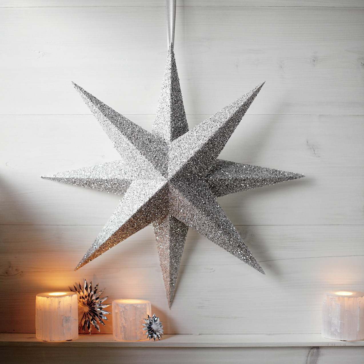 Christmas star decorations martha stewart - Ideas para decorar estrellas de navidad ...