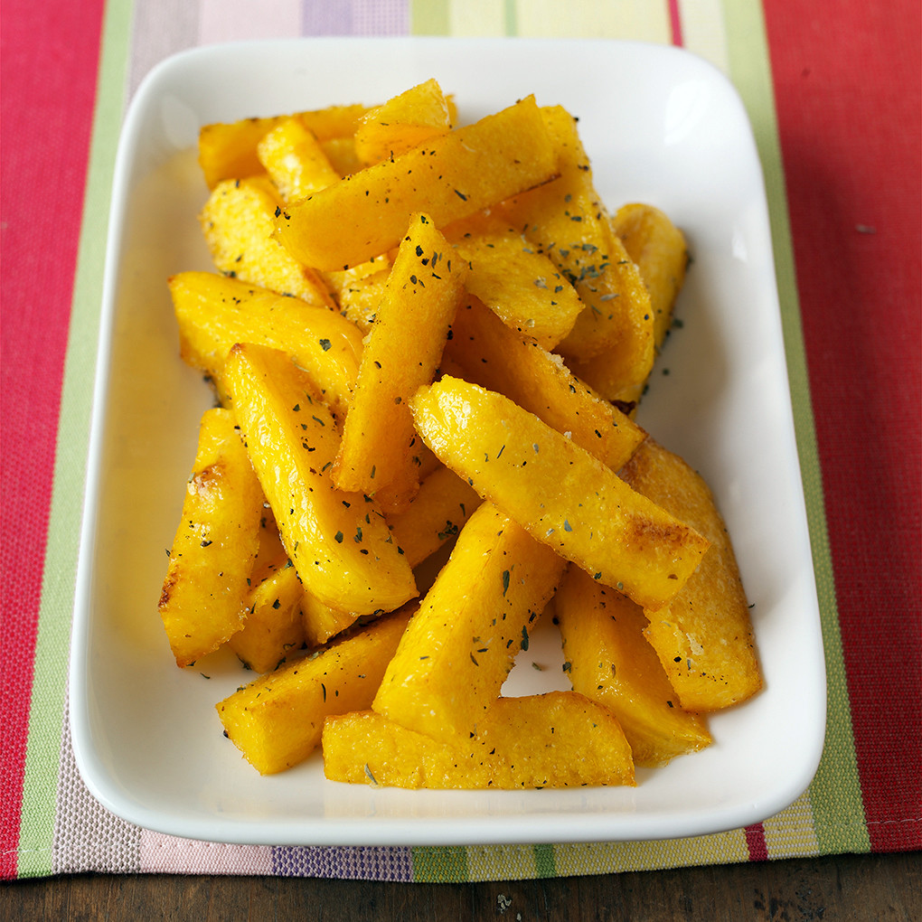 Christmas Party Game Ideas: Baked Polenta Fries Recipe