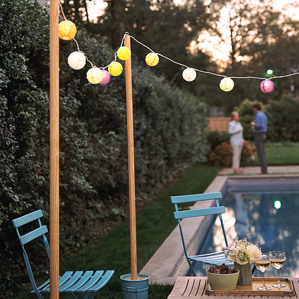 7 Diy Outdoor Lighting Ideas To Illuminate Your Summer: Martha Stewart