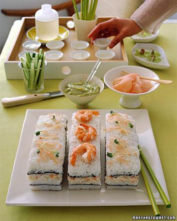 Sushi Cake Recipe Martha Stewart