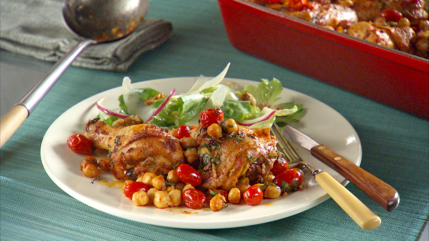 Check Out This Awesome Winner Winner Chicken Dinner: ''Mad Hungry'' Weeknight Dinner Menus