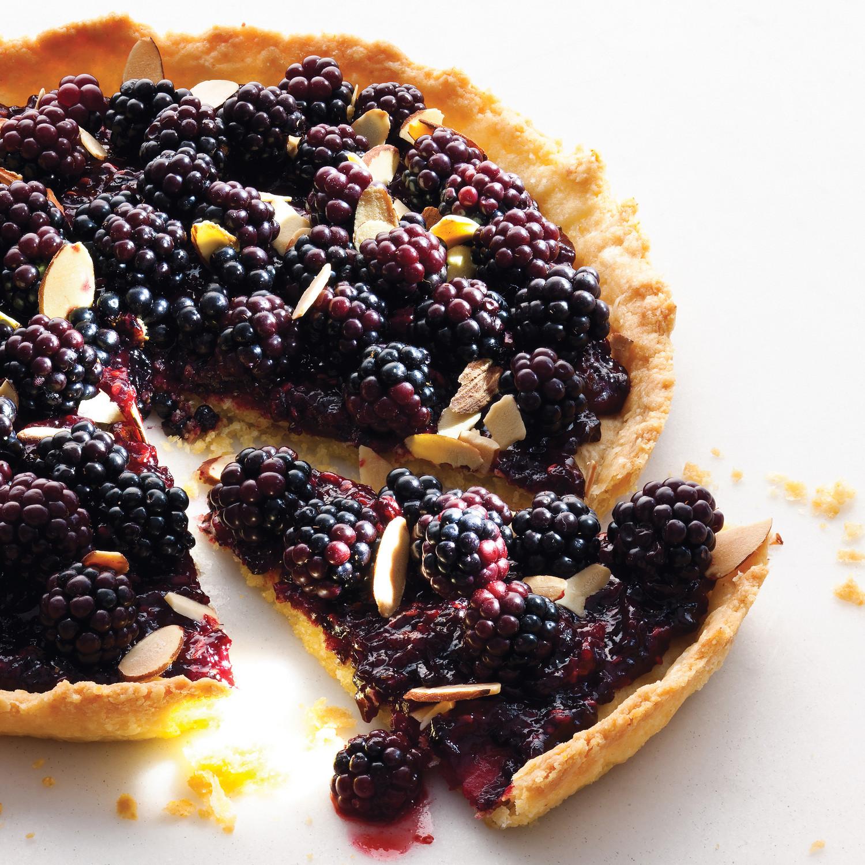 Old Bachelor S Jam And Blackberry Tart Recipe Martha Stewart border=