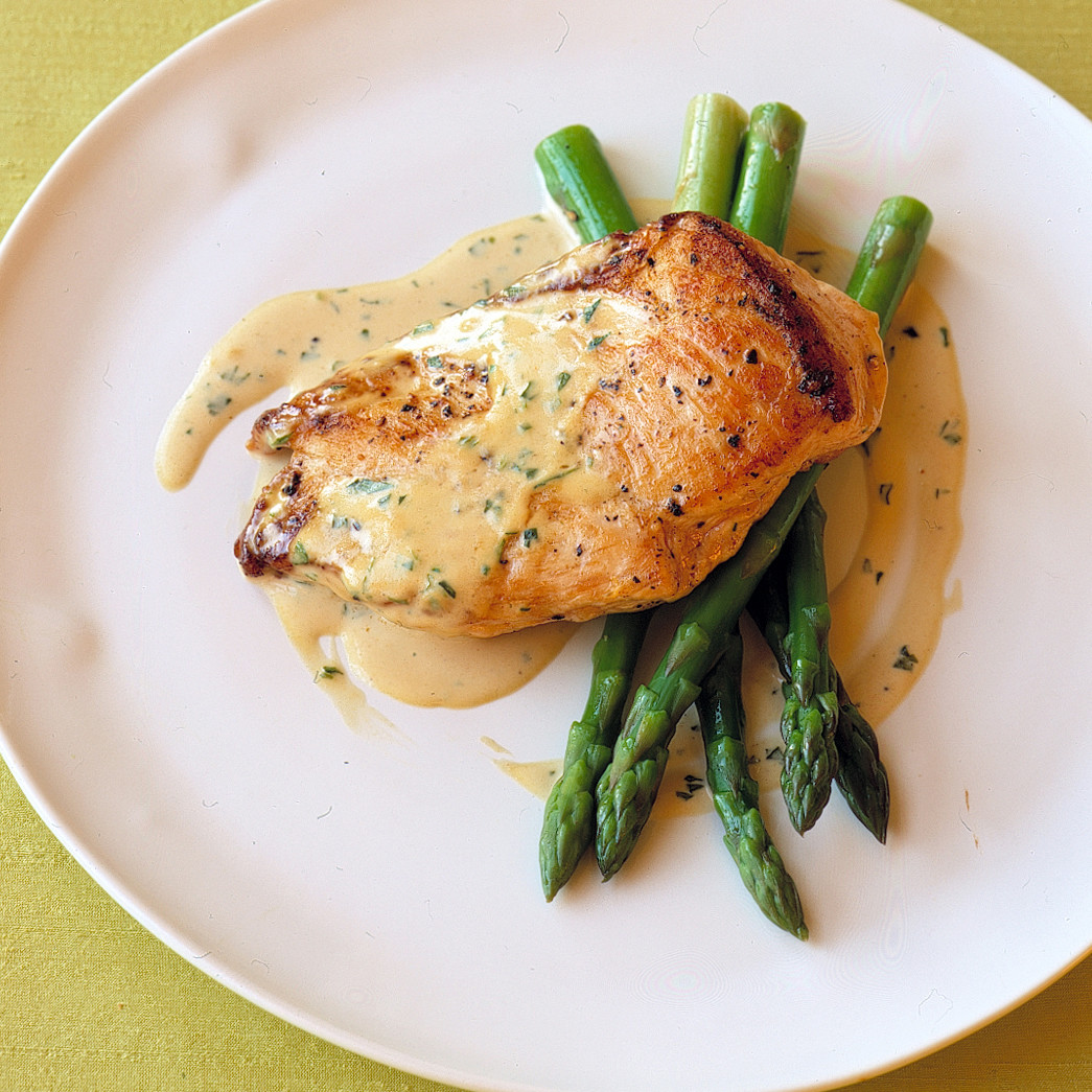 May The Fourth Be With You French: Sauteed Chicken In Mustard-Cream Sauce