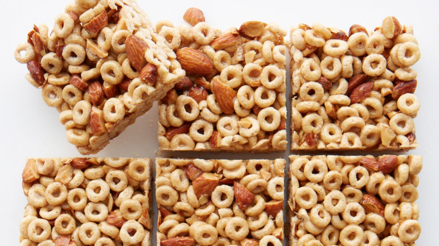 Honey Nut Cereal Bar Recipe Amp Video Martha Stewart