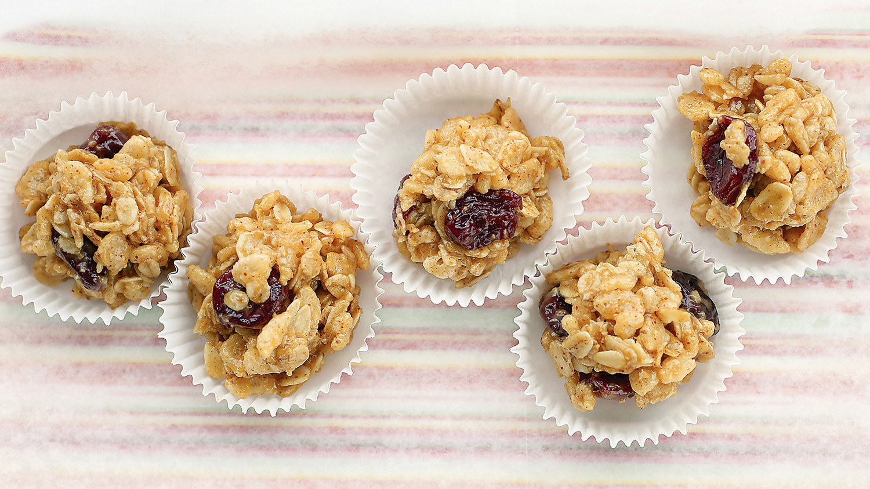 Peanut-Butter Granola Balls Recipe | Martha Stewart