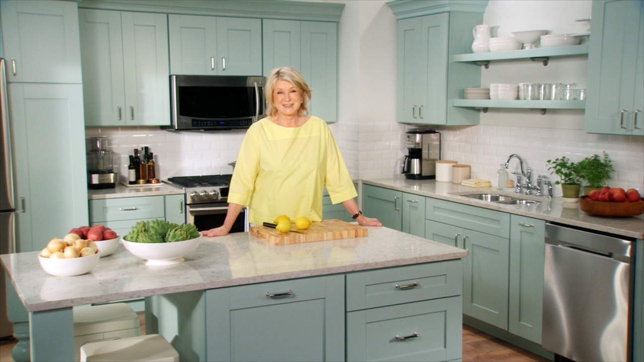 Video how to personalize your kitchen martha stewart for Kitchen decoration image