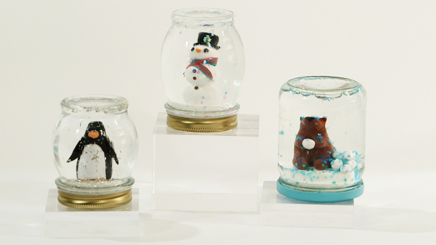 Video Diy Mason Jar Snow Globes Martha Stewart