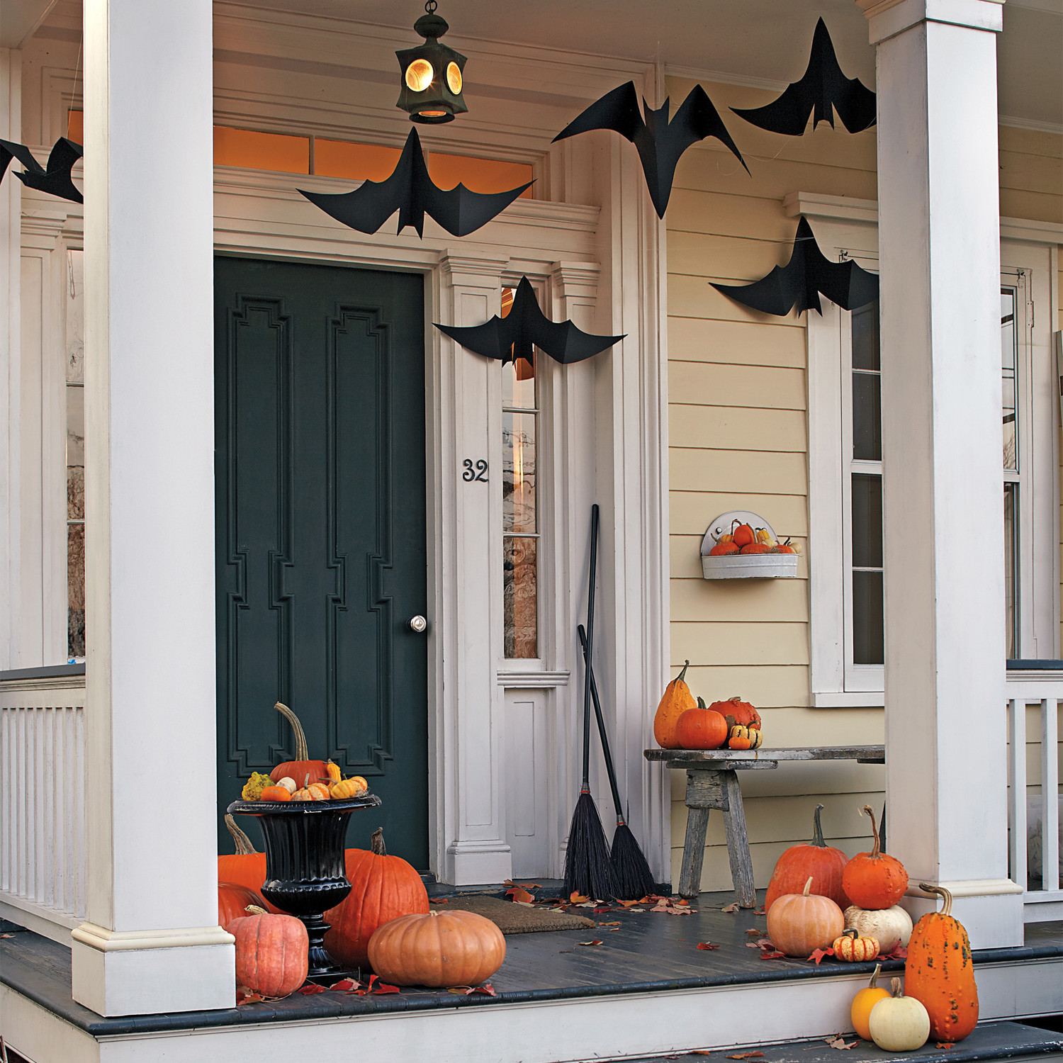 outdoor halloween decorations - Halloween Bat Decorations
