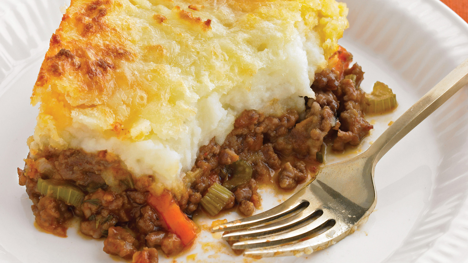 Cheddar-Topped Shepherd's Pie  Cheddar-Topped ...
