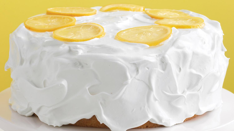 Dense moist lemon cake recipe