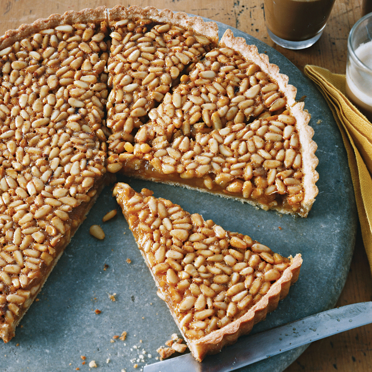 Honey And Pine Nut Tart