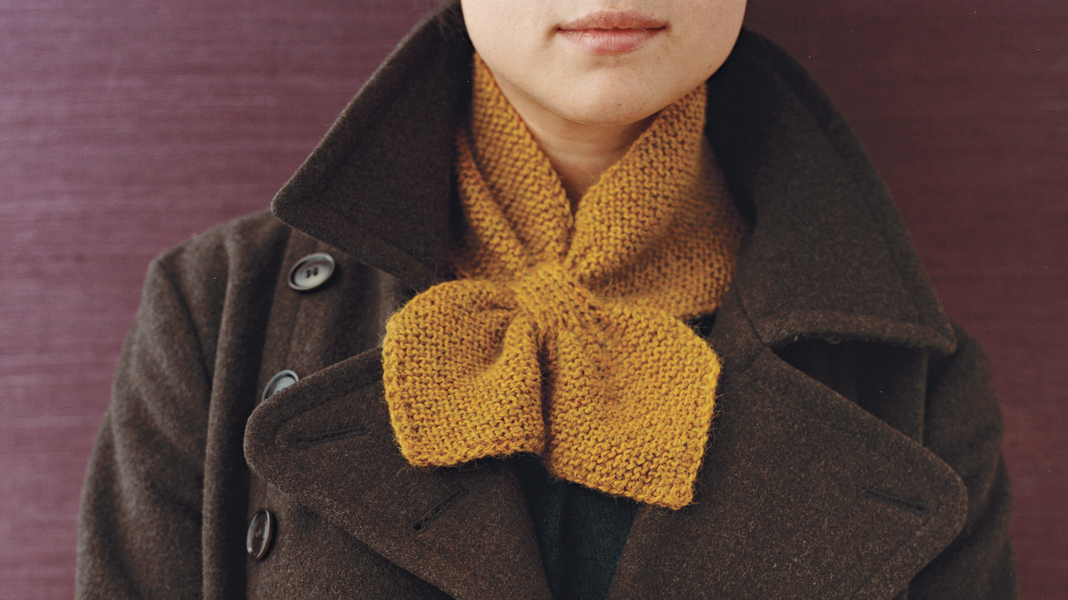 Knitted Neck Scarf Martha Stewart