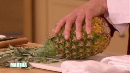 Video How To Carve A Pineapple Martha Stewart