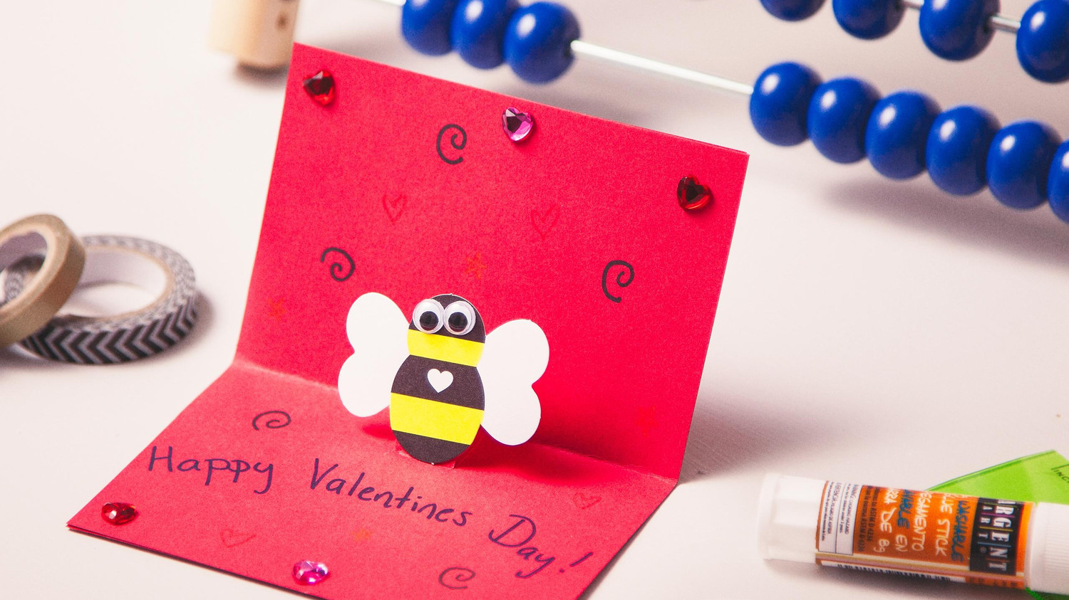 Kid Craft Scented Valentines Day Cards – Martha Stewart Valentines Day Cards