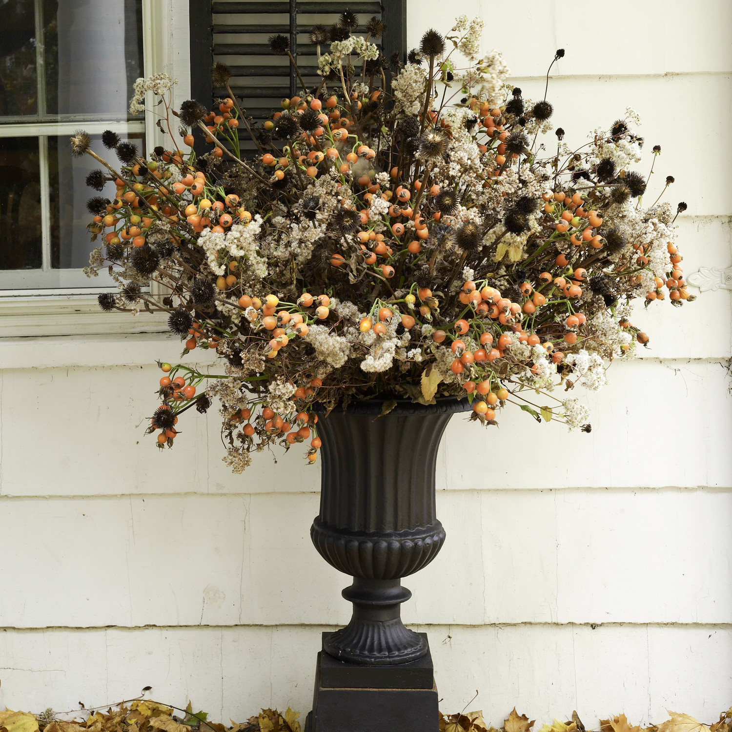 outdoor fall arrangement martha stewart martha stewart fall crafts - Halloween Decorations Martha Stewart