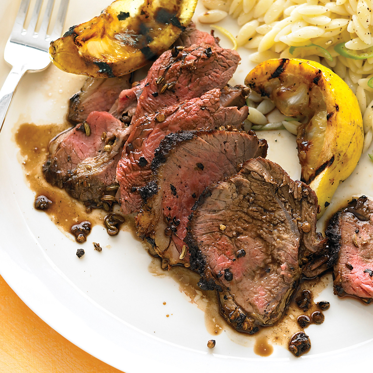 Spiced Butterflied Leg Of Lamb Recipe Martha Stewart