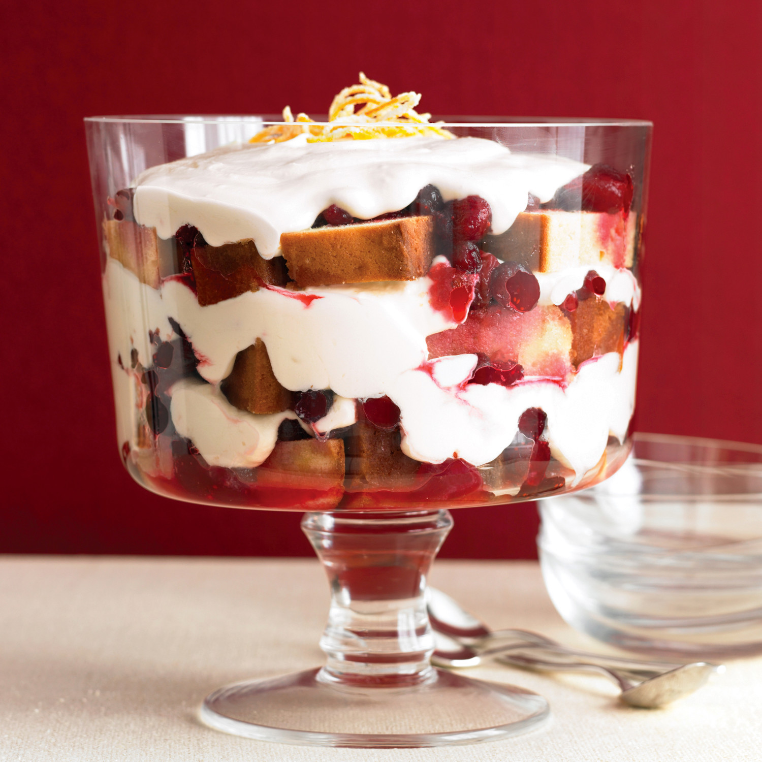 Cranberry Trifle Recipe | Martha Stewart