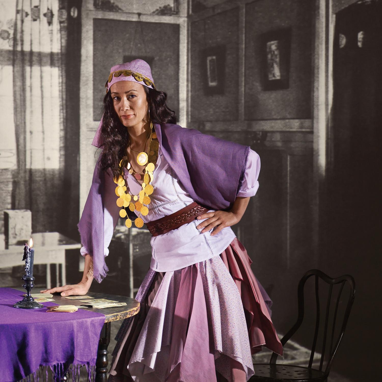 Fortune Teller Costume Martha Stewart