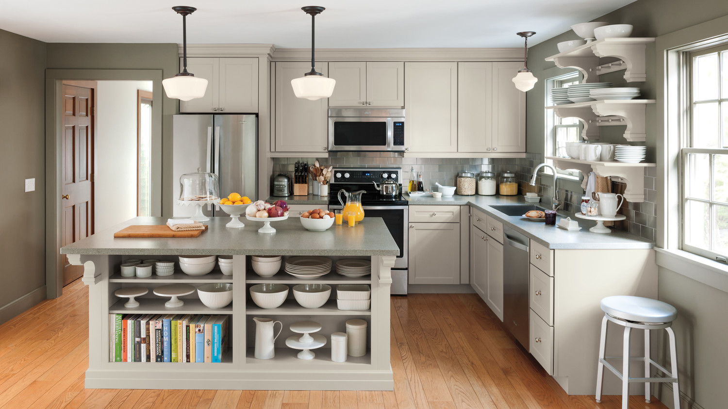 Tips For Kitchen Color Ideas: Kitchen Design Ideas