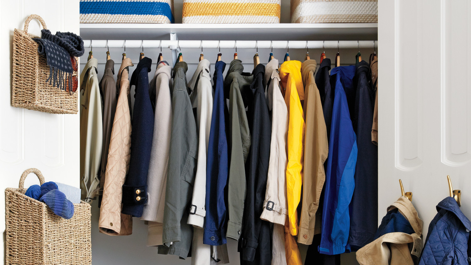 Declutter The Coat Closet Martha Stewart