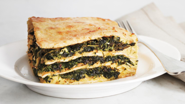Matzo Spinach Lasagna Recipe Martha Stewart