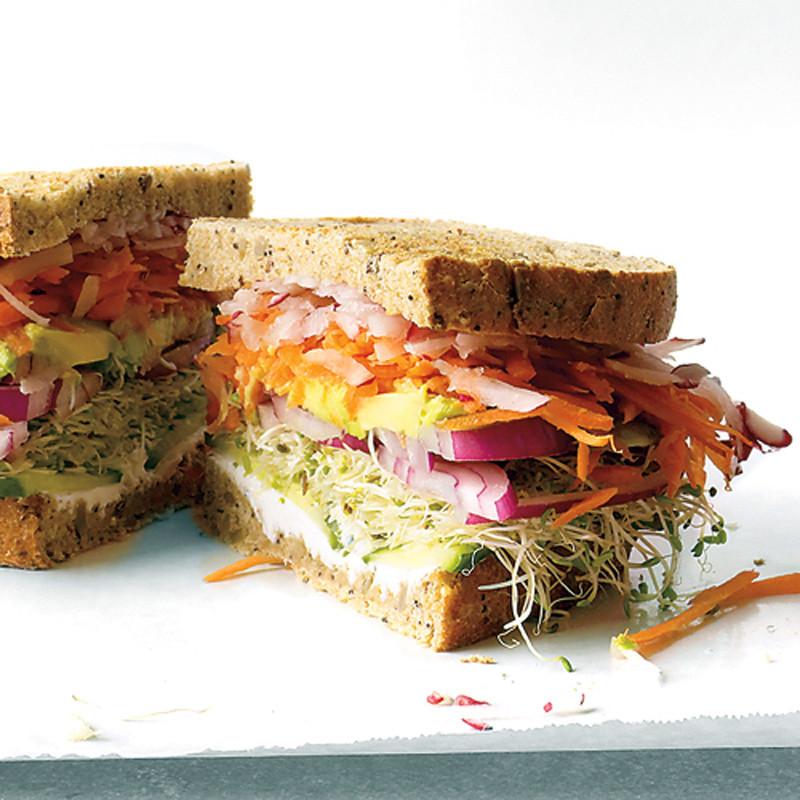 California Veggie Sandwich Recipe Martha Stewart