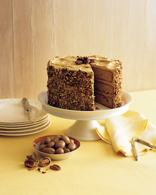 Fall Garden Tips: Butterscotch-Pecan Cake