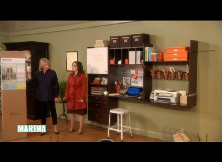 Video Organize Your Office Martha Stewart
