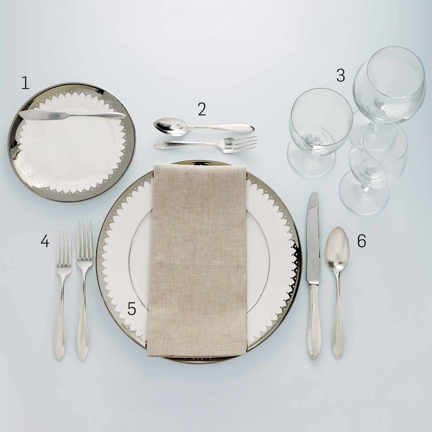 Formal Table Setting Martha Stewart