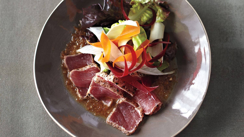 New Style Sashimi Salad With Matsuhisa Dressing