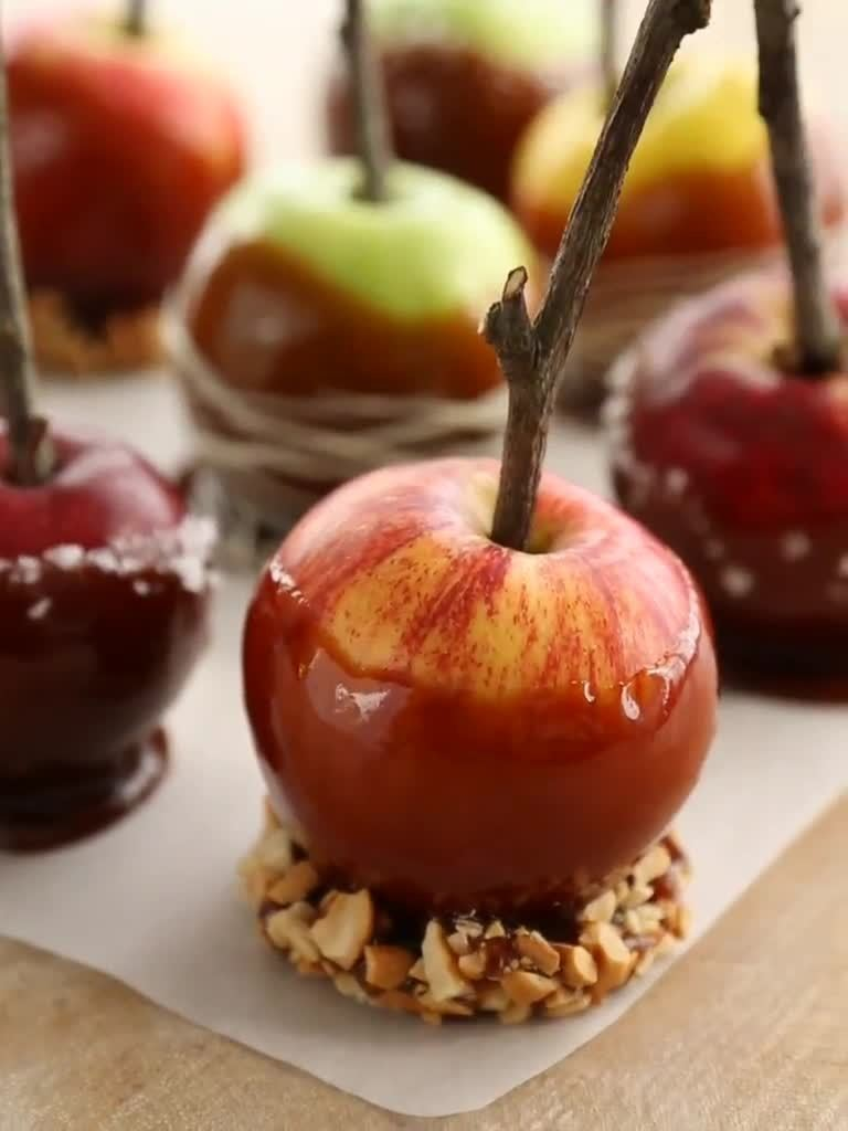 Video How To Make Caramel Apples Martha Stewart