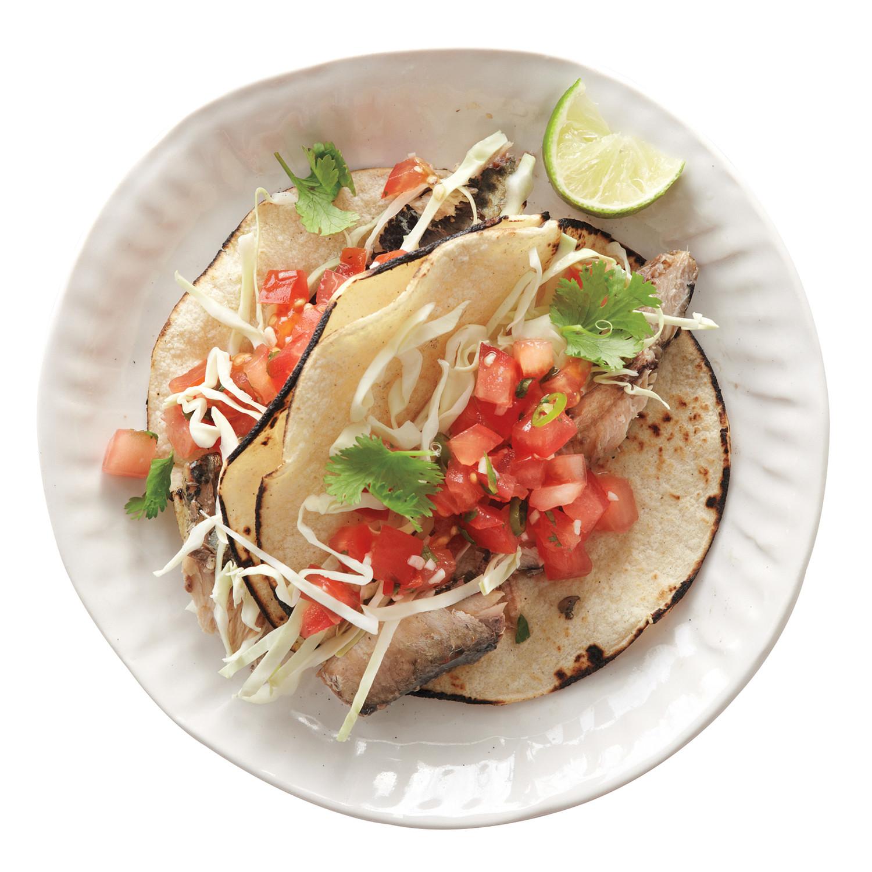 Sardine tacos recipe martha stewart for Sardine lunch ideas