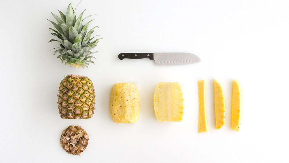 Video How To Cut Pineapple Wedges Martha Stewart
