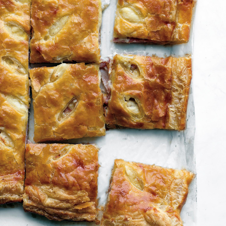 Ham And Cheese Puff Tart