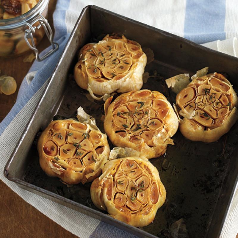 Roasted Garlic Recipe & Video