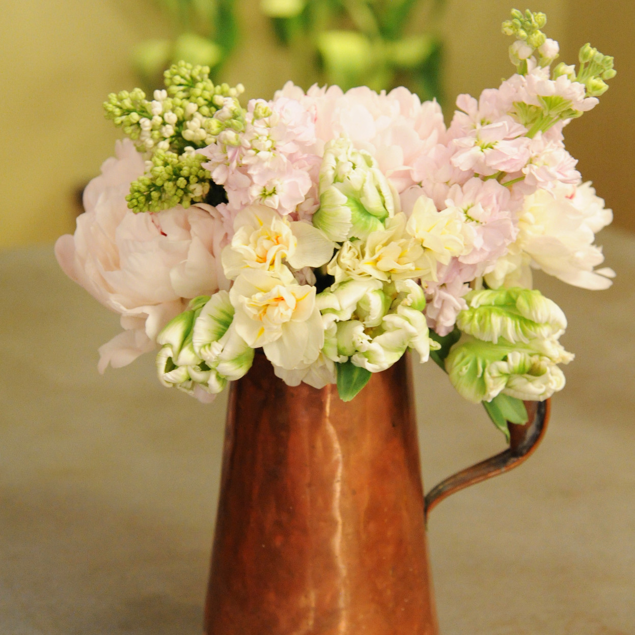 Rustic Watering Can Flower Arrangement Amp Video Martha
