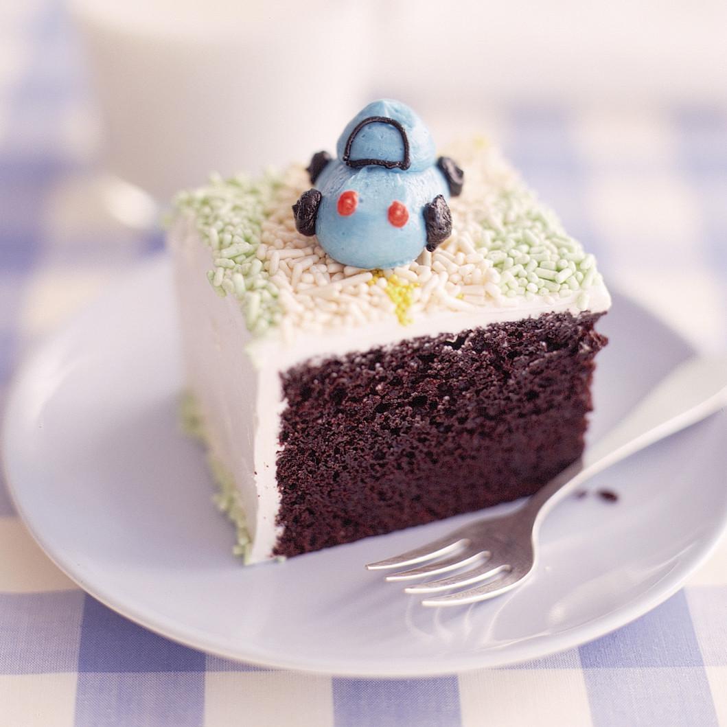 One Bowl Chocolate Birthday Cake